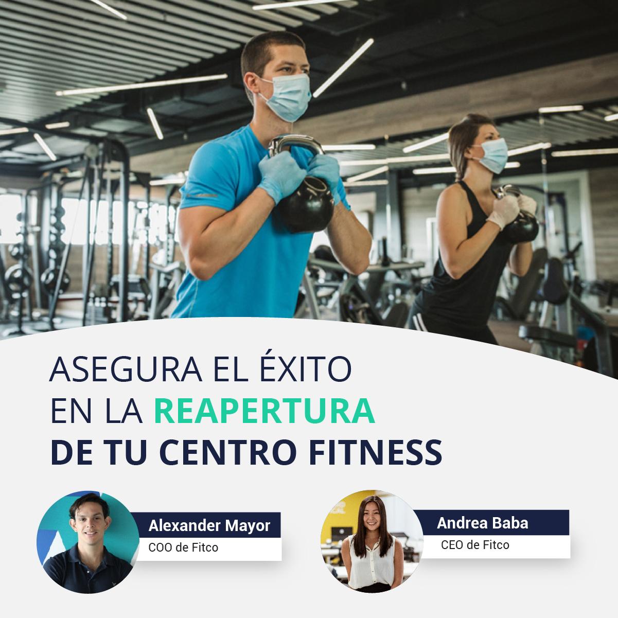 Asegura el exito en la reapertura de tu centro fitness