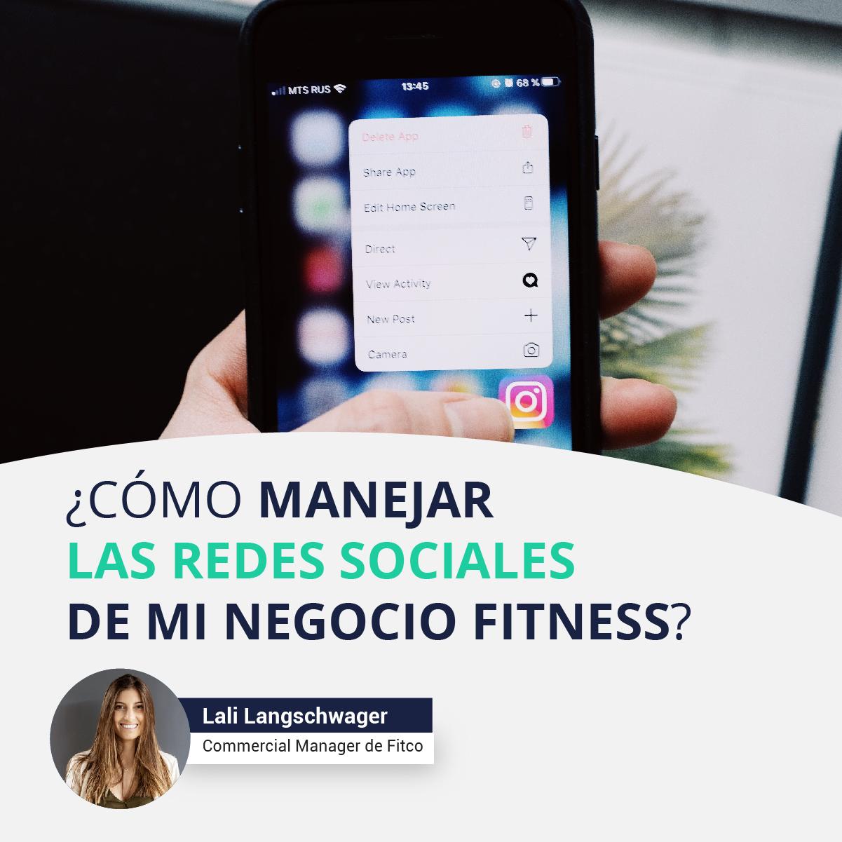 ¿Cómo manejar las redes sociales de mi centro fitness?
