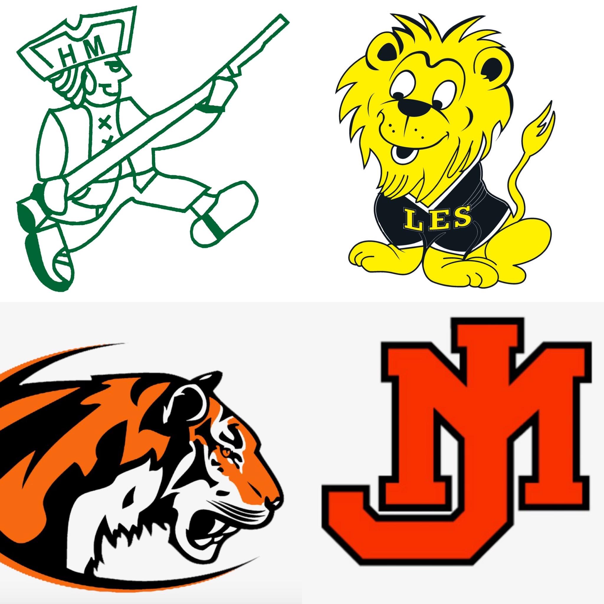 Fredericksburg City School Logos