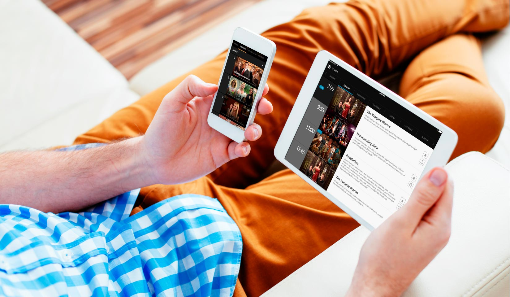A social TV and second-screen experience for the audience of a Latin American television network