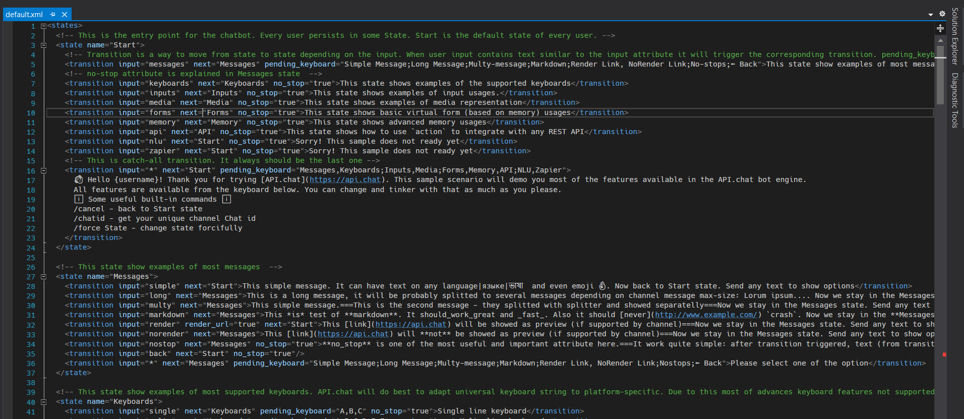 Visual Studio is a nice option