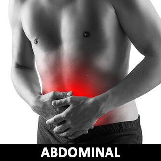腹部痠痛圖
