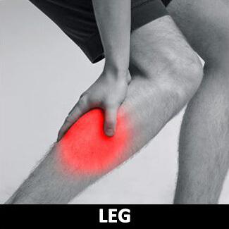 小腿痠痛圖