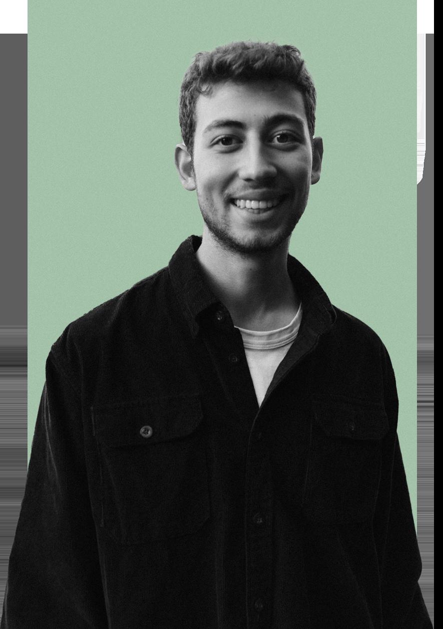 Joscha Nivergall Portrait für About Me Seite