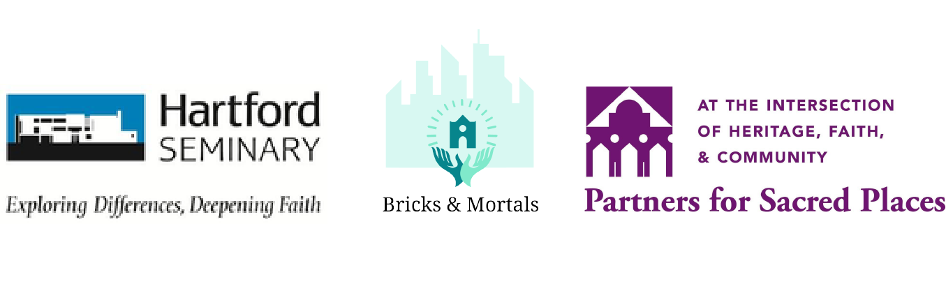 Sustainable Solutions for Sacred Sites S4 l Partnership logo l Hardfor seminary, Bricks & Mortals and Partners for Sacred Places