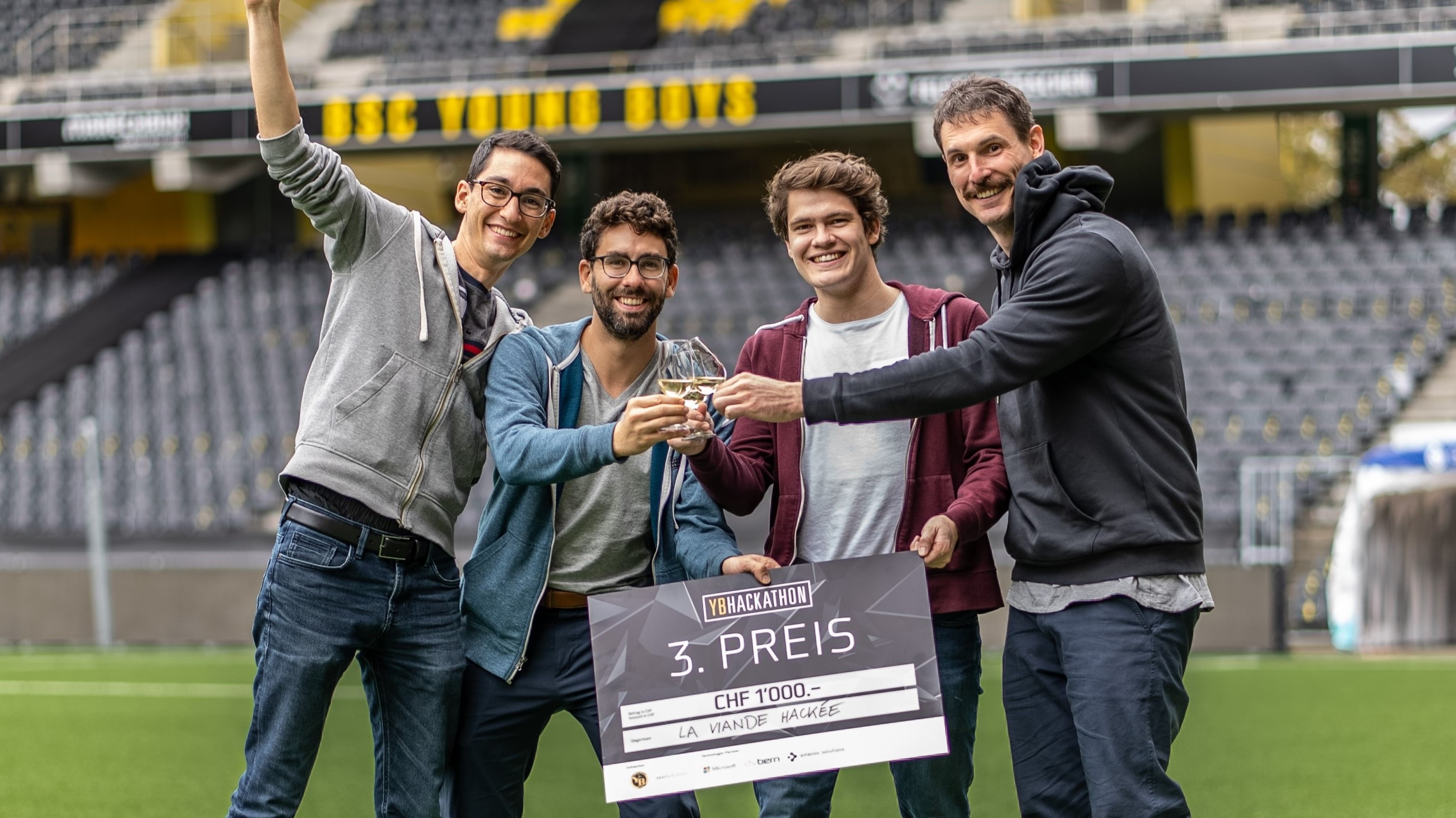 YB Hackathon 2021 Bern isolutions BSC Young Boys Technology
