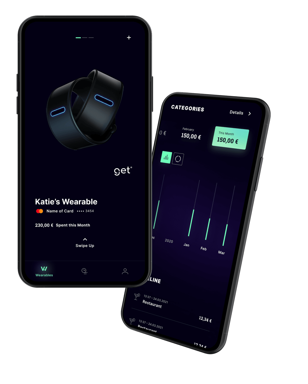 wearonize wallet app companion app for payment wearables