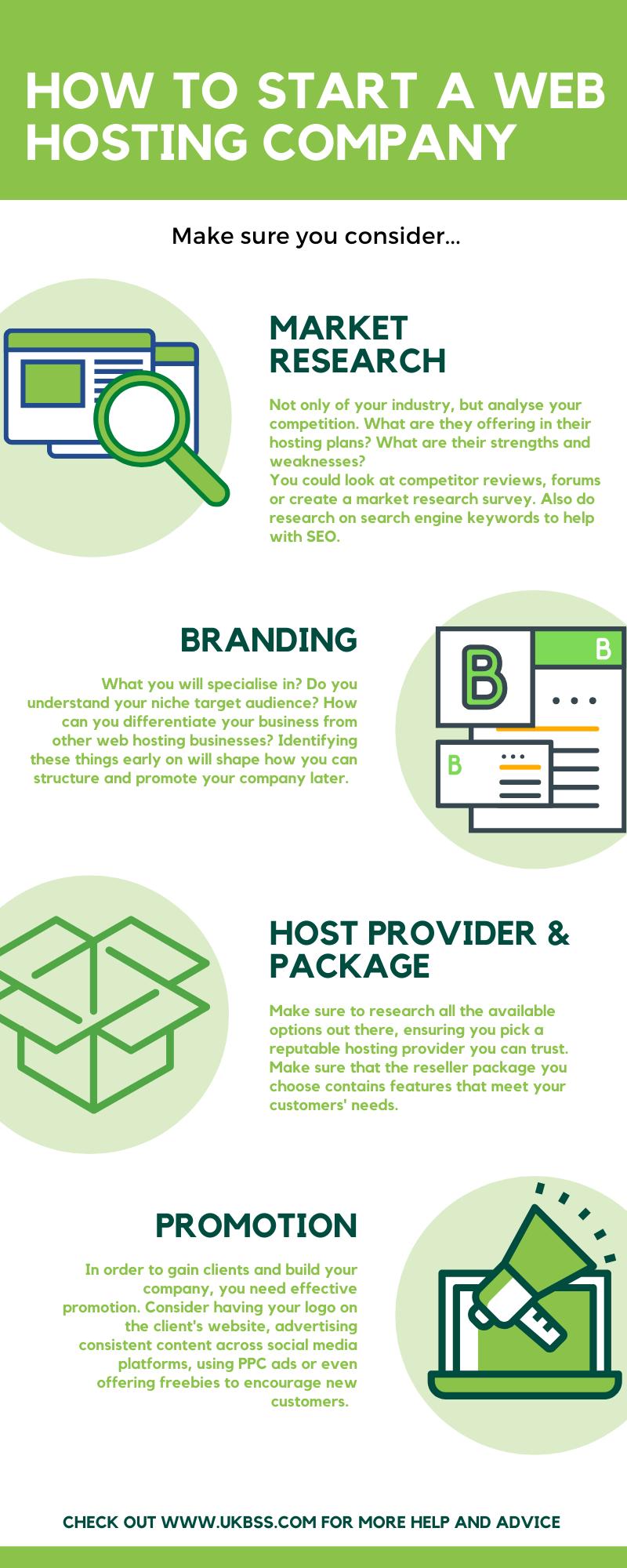 How to start a web hosting company