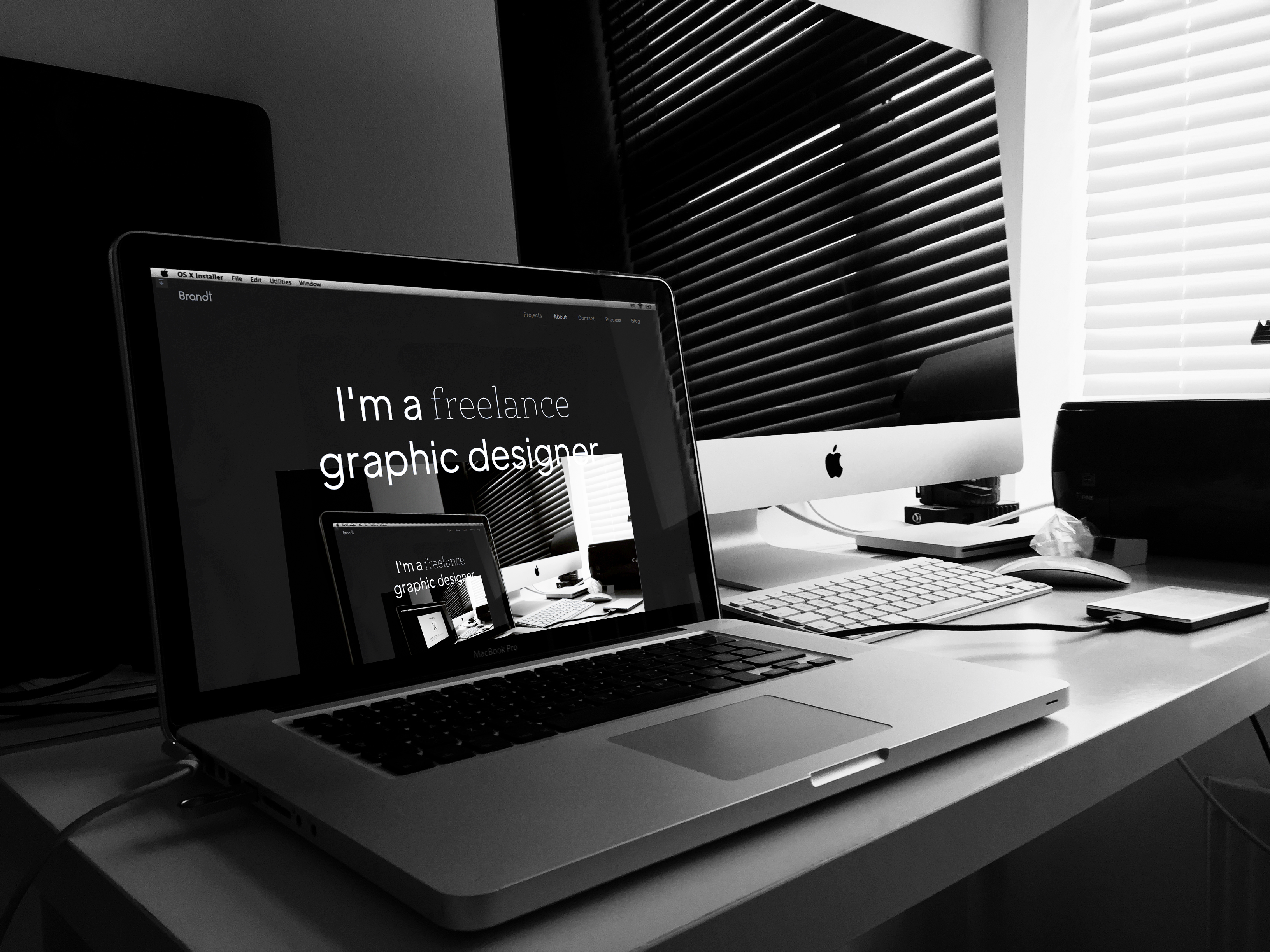 Graphic Designer & Web Designer based in Essex - Brandt Creative Studio.
