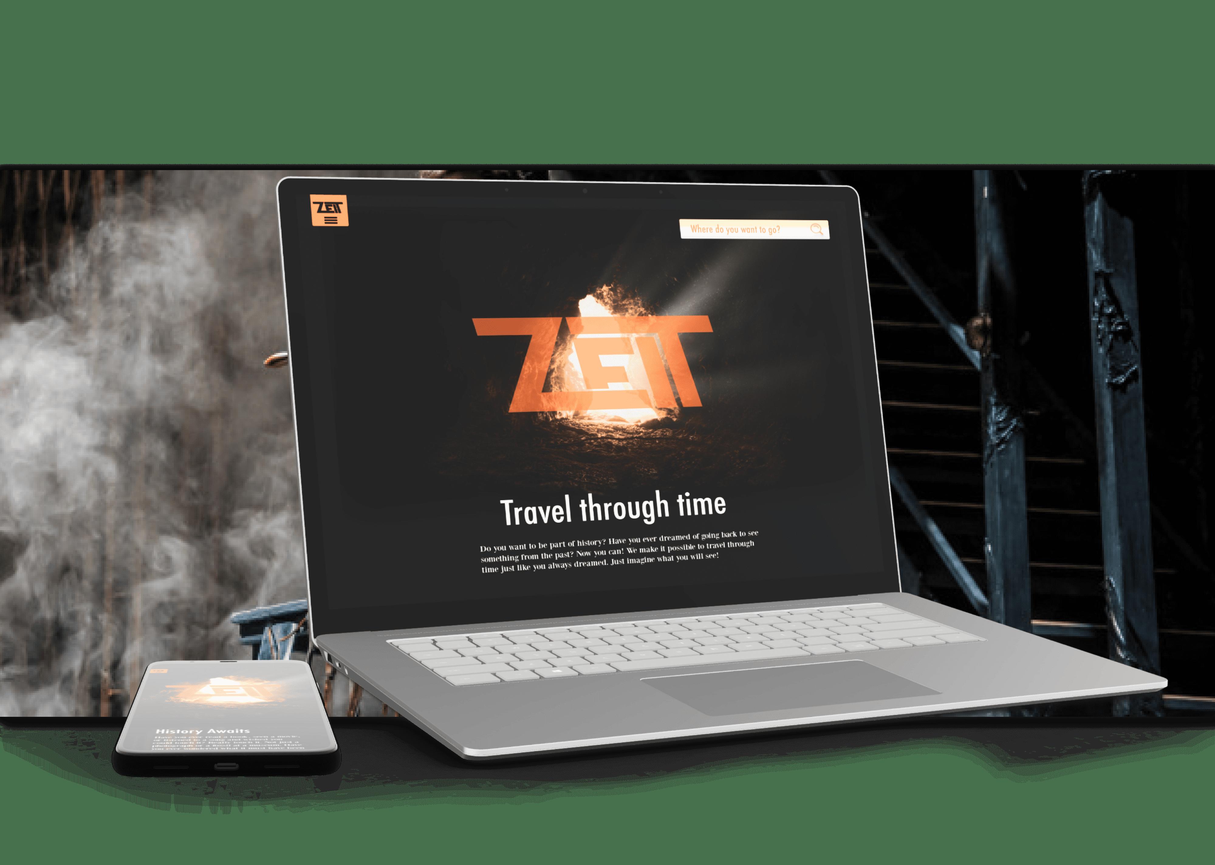 Zeit website
