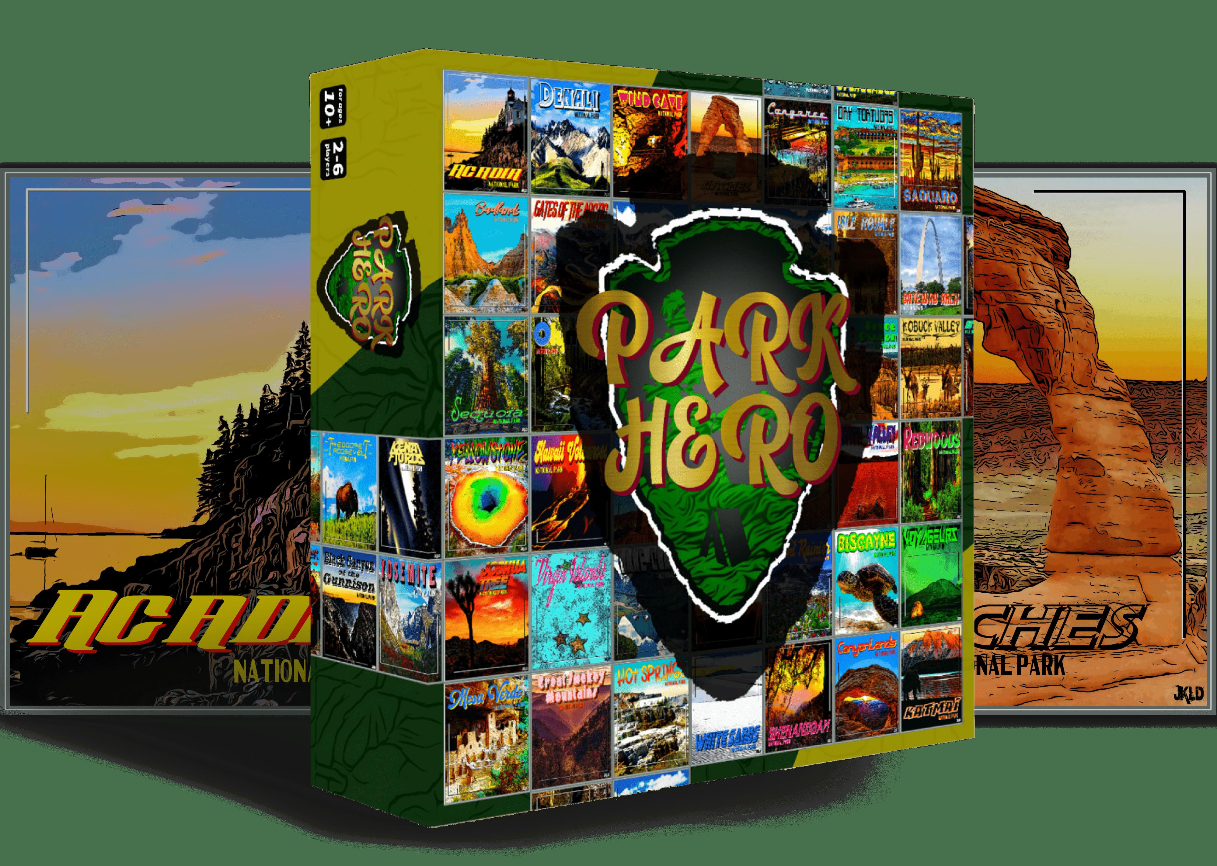 Park Hero board game