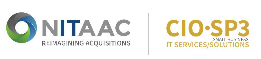 Logos for NITAAC and CIO-SP3