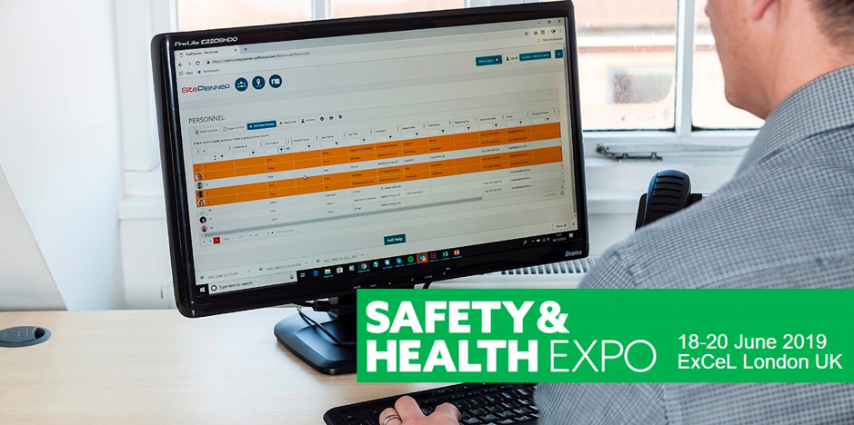 SitePlanner Exhibiting at Safety and Health Expo 2019