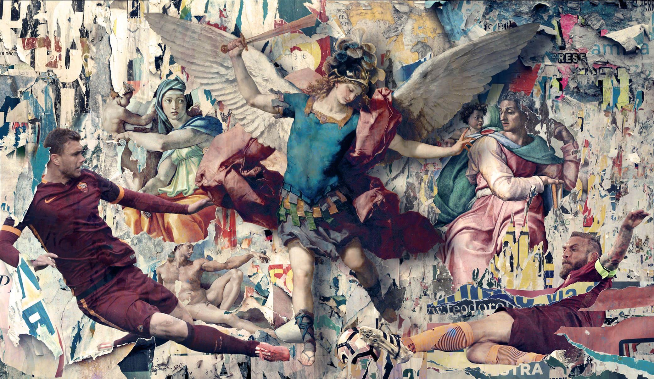 Il Gigante buono, San Michele e San Daniele