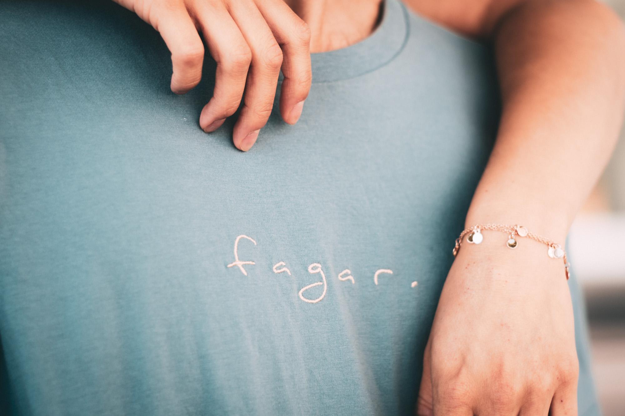 Product Shot Fagar T-Shirt Blau