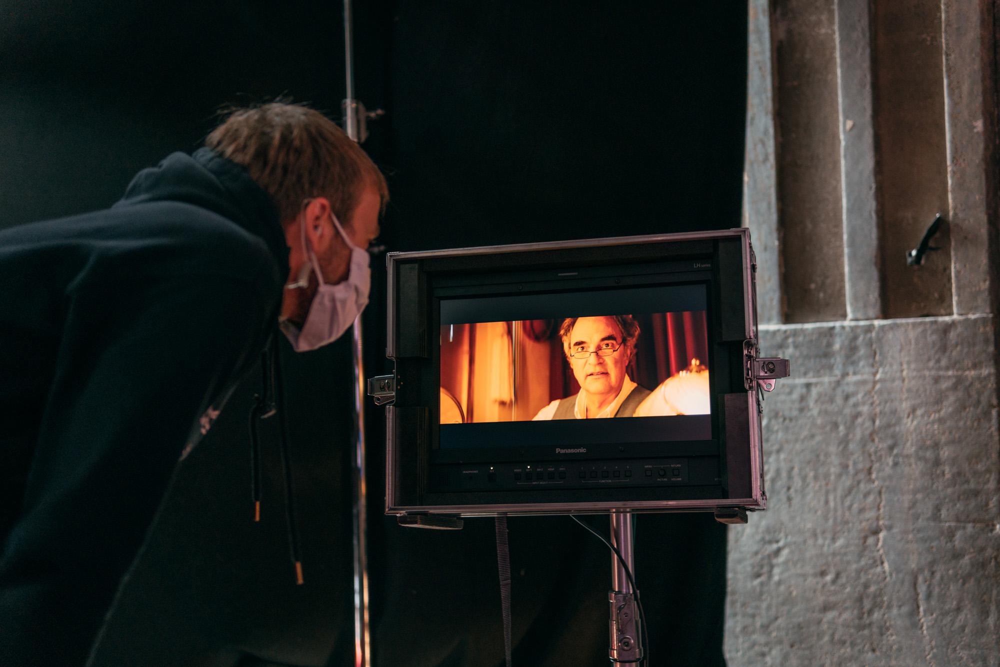 """Behind The scenes """"Kinoliebe"""" Regie"""