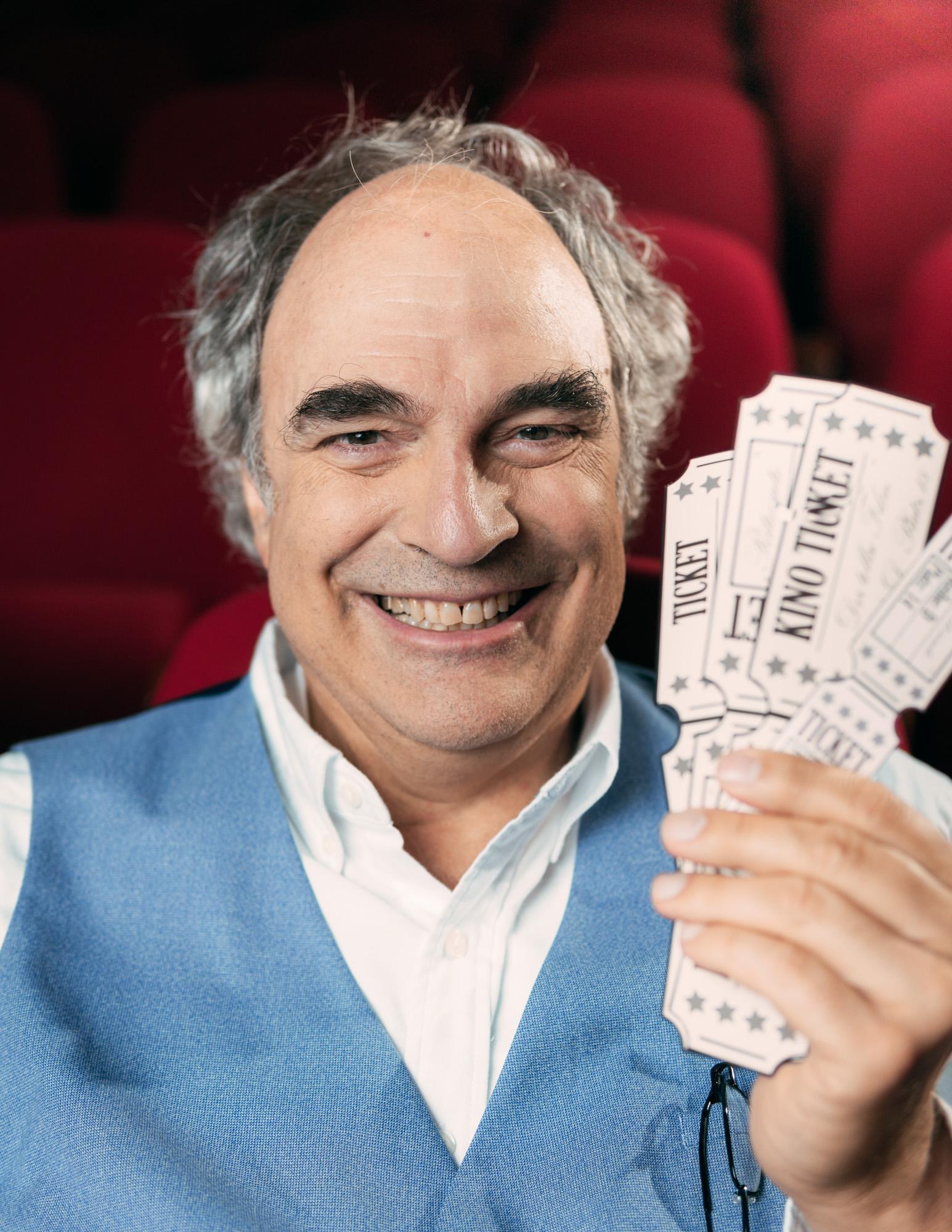 """William Cohn """"Kinoliebe"""" Ticketverkäufer"""