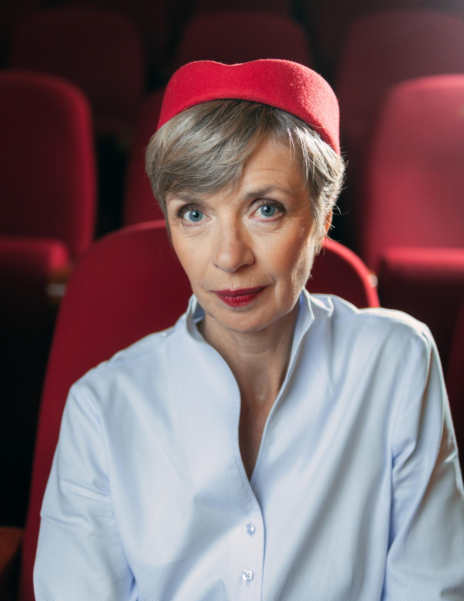 Anna Stieblich Portrait