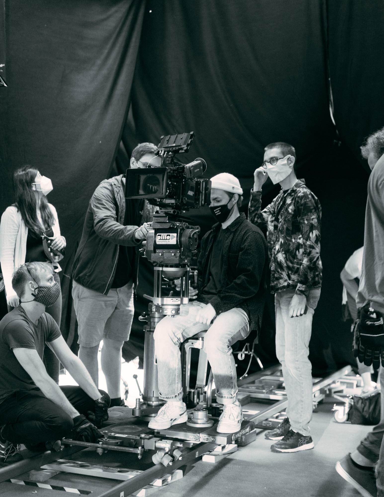 """Behind The scenes Filmproduktion """"Kinoliebe"""""""