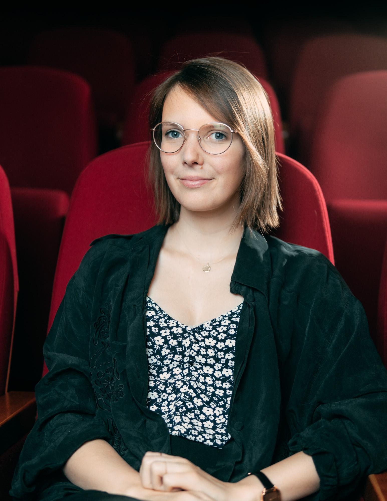"Portrait Hannah Lisa Paul für ""Kinoliebe"""