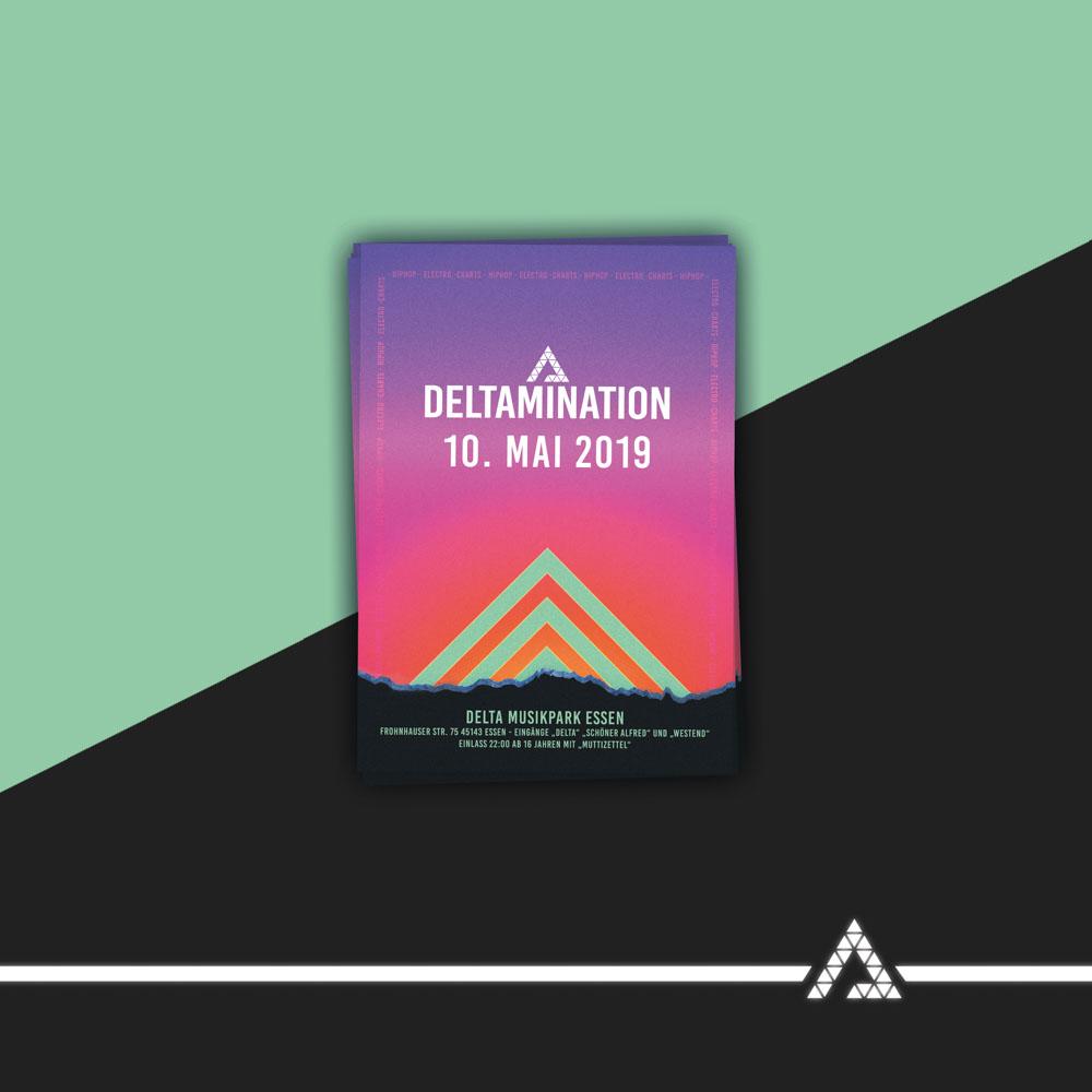 Deltamination Ticket Mockup