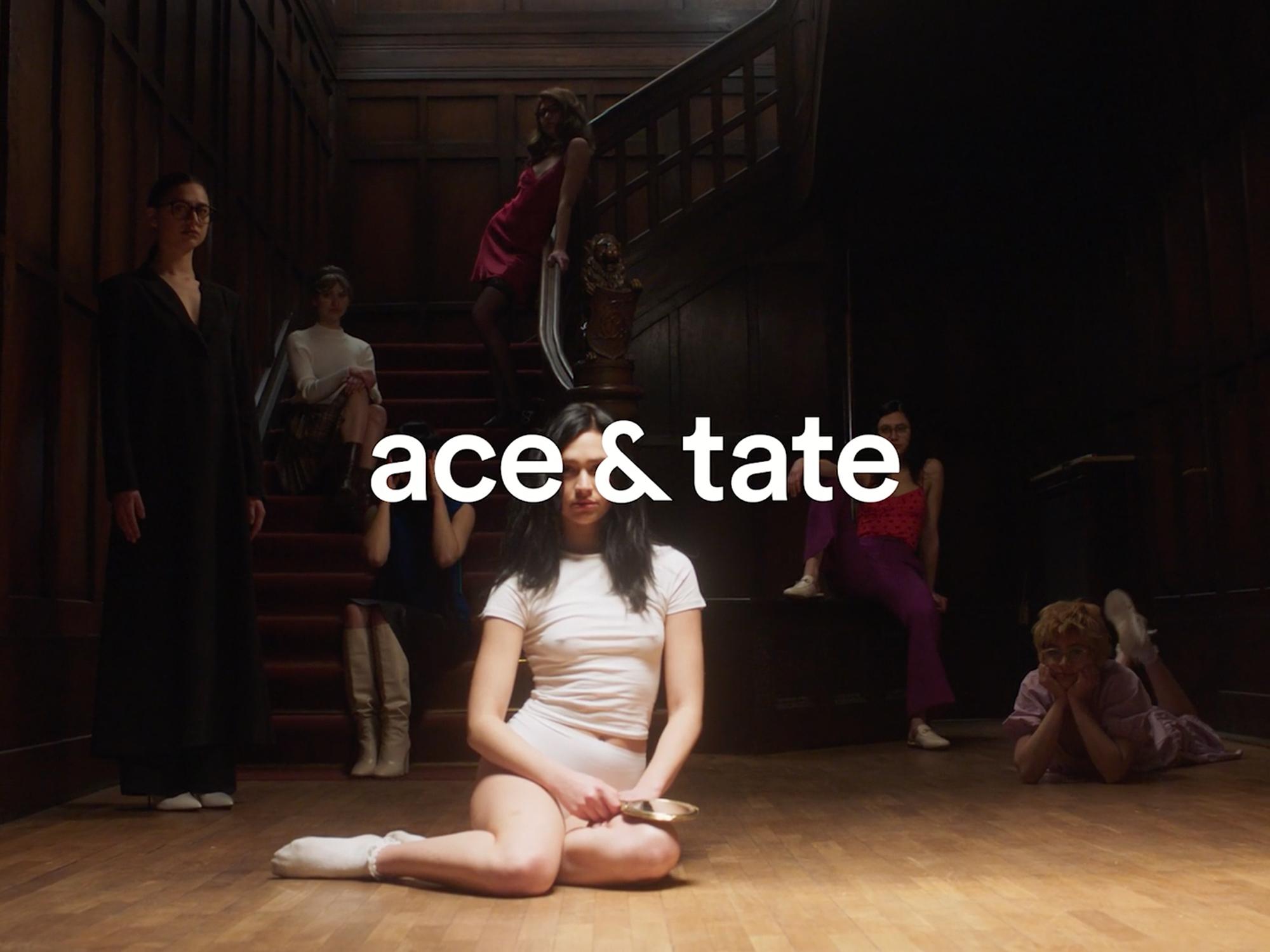 Ace&tate final shot mit Logo