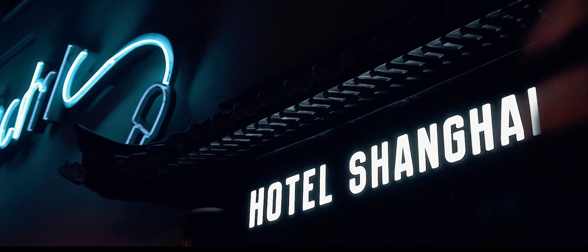 Außenansicht Hotel Shanghai in Essen