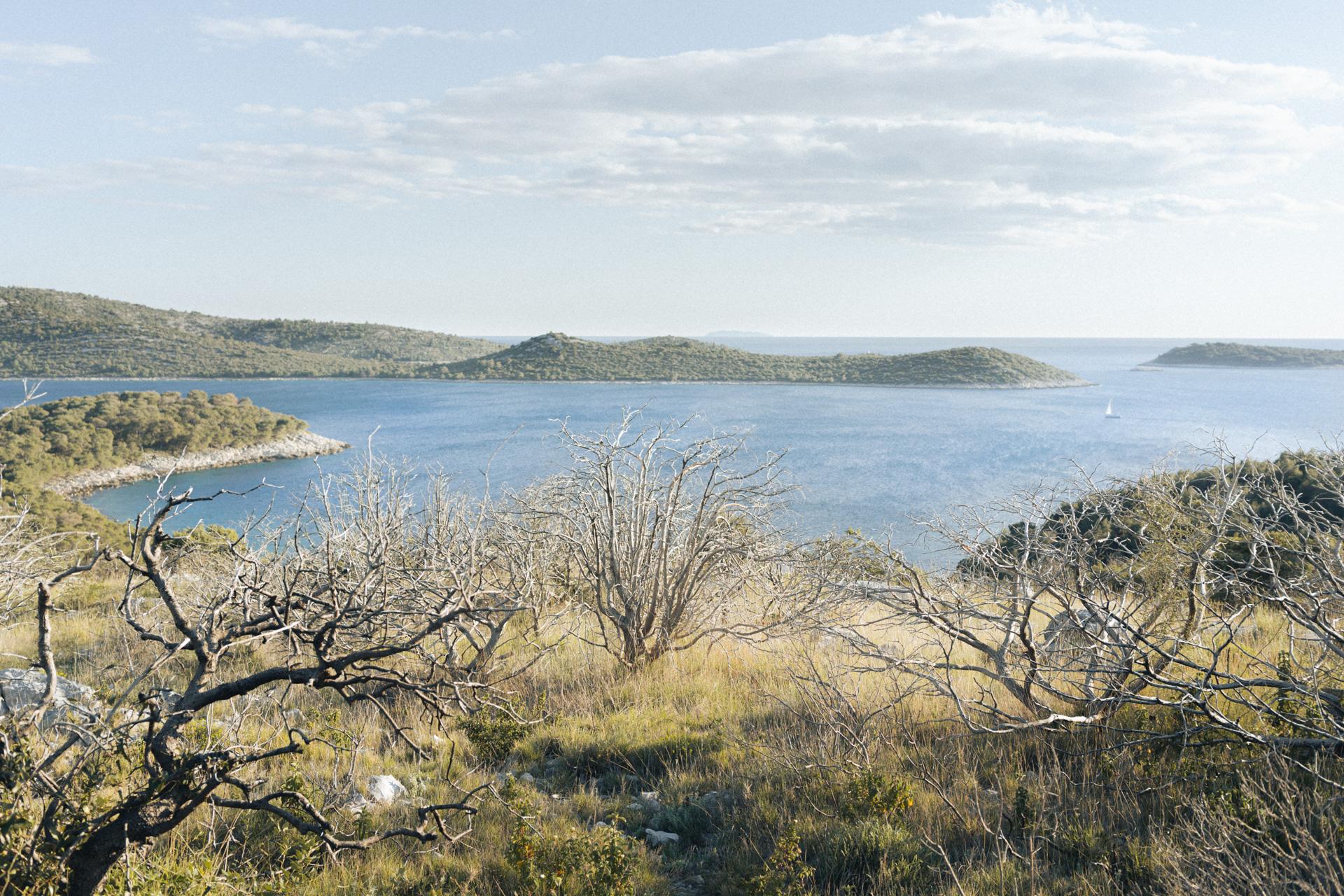 Überblick über kroatische Inseln
