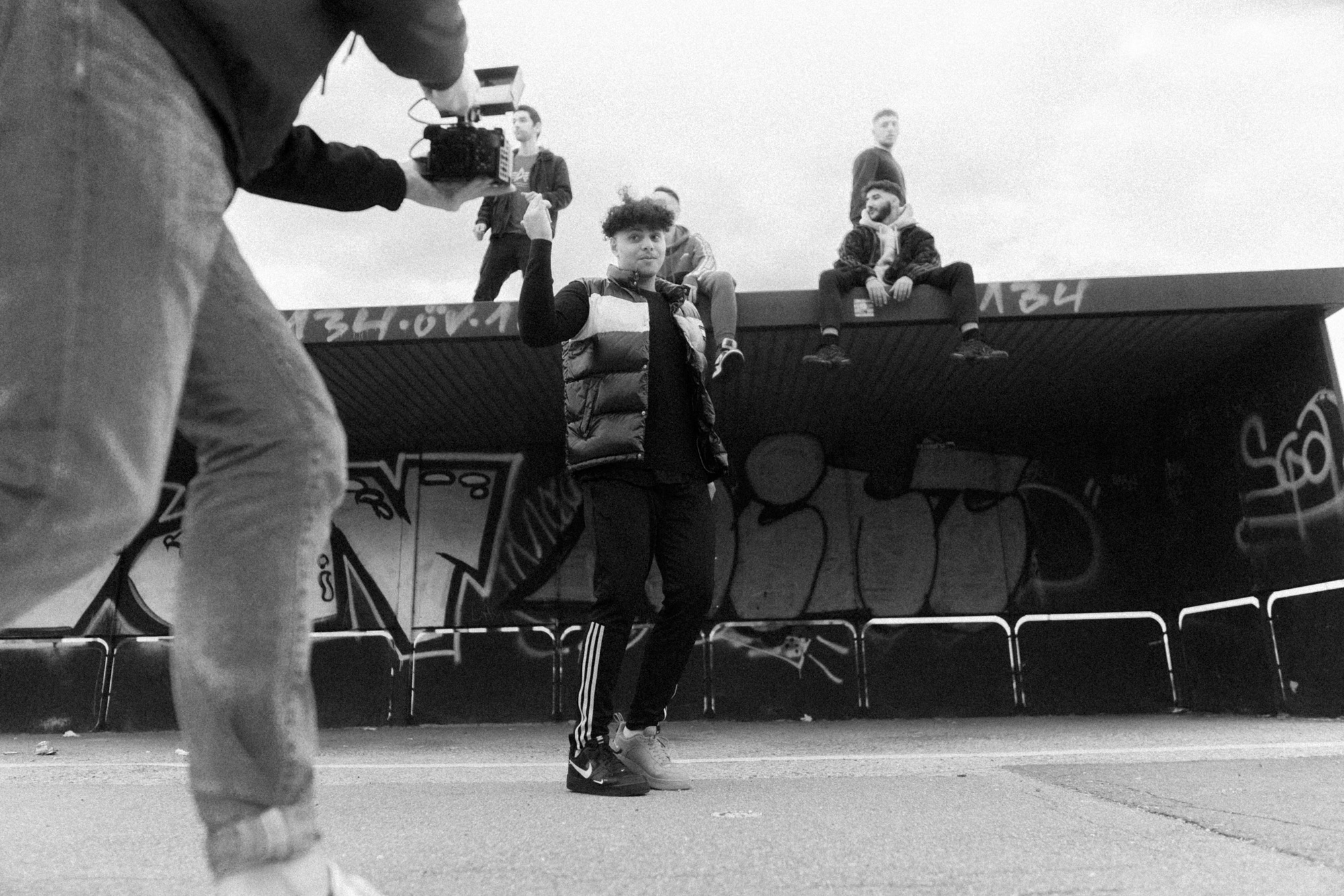 "Behind The scenes Foto ""15kmh"""