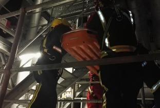 warrior fire and rescue line rescue