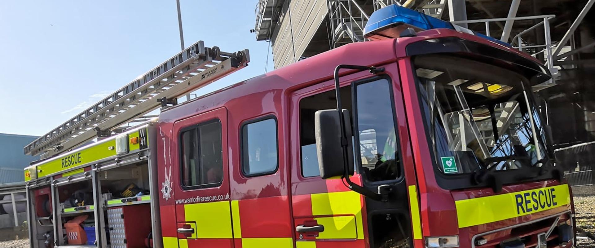 Warrior Fire & Rescue Service fire engine