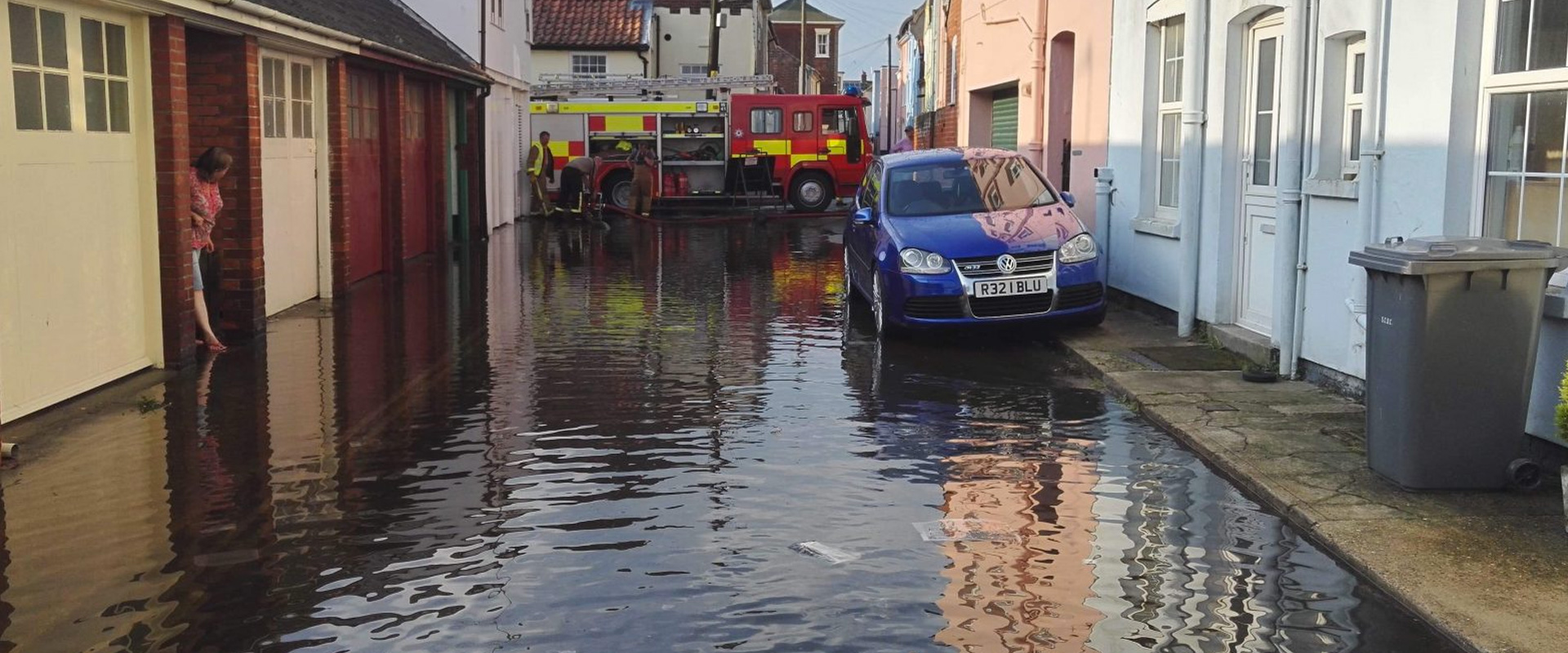 Warrior Fire & Rescue Service flood pumping