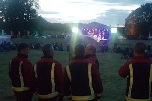 Warrior Fire & Rescue Service at a music festival