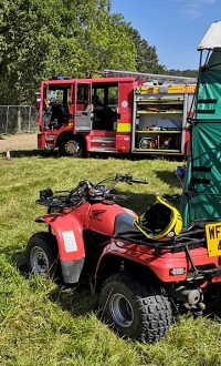 Warrior Fire & Rescue Service at events