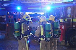 Warrior Fire & Rescue Service backstage work