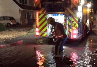 Warrior Fire & Rescue Service flood pumping and salvage