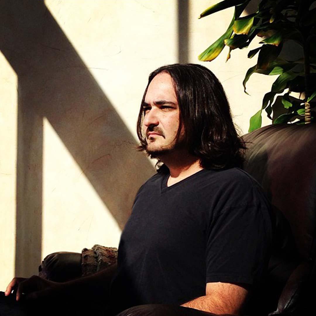Photo of Nicholas Ryan Howard meditating