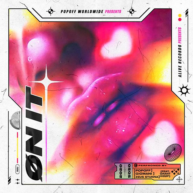 POPOFF - ON IT (COVER ART)