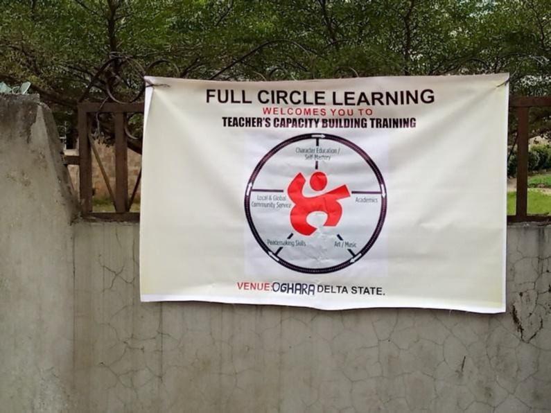 A banner for Teacher's Capacity Training