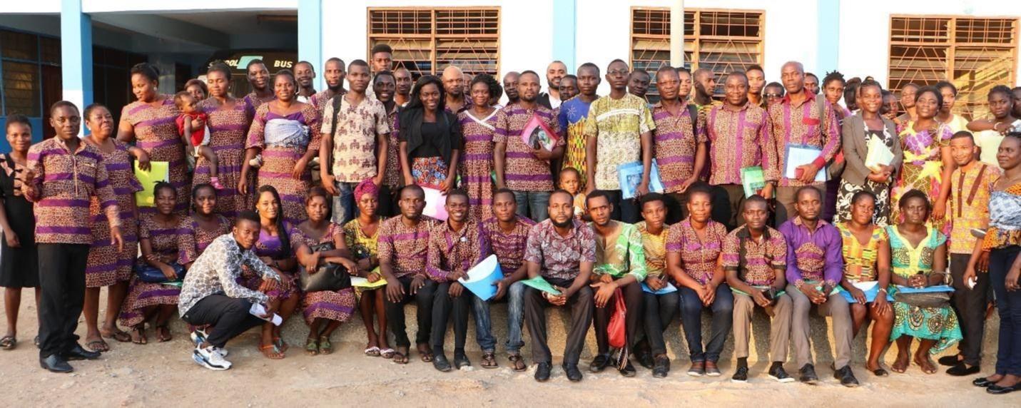 A group of Teachers in Ghana.