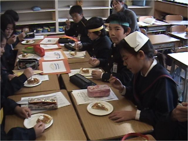 Students exploring the tradition of Thanksgiving