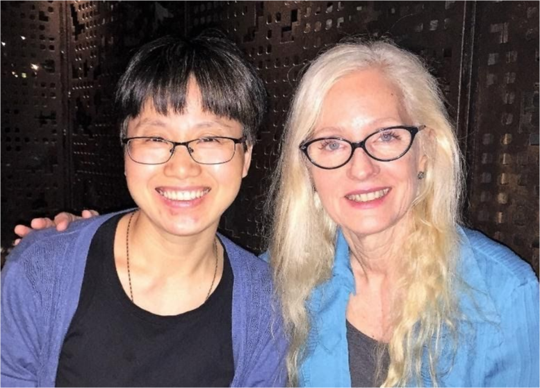 Dr. Jin-mei Gan with Theresa Langness
