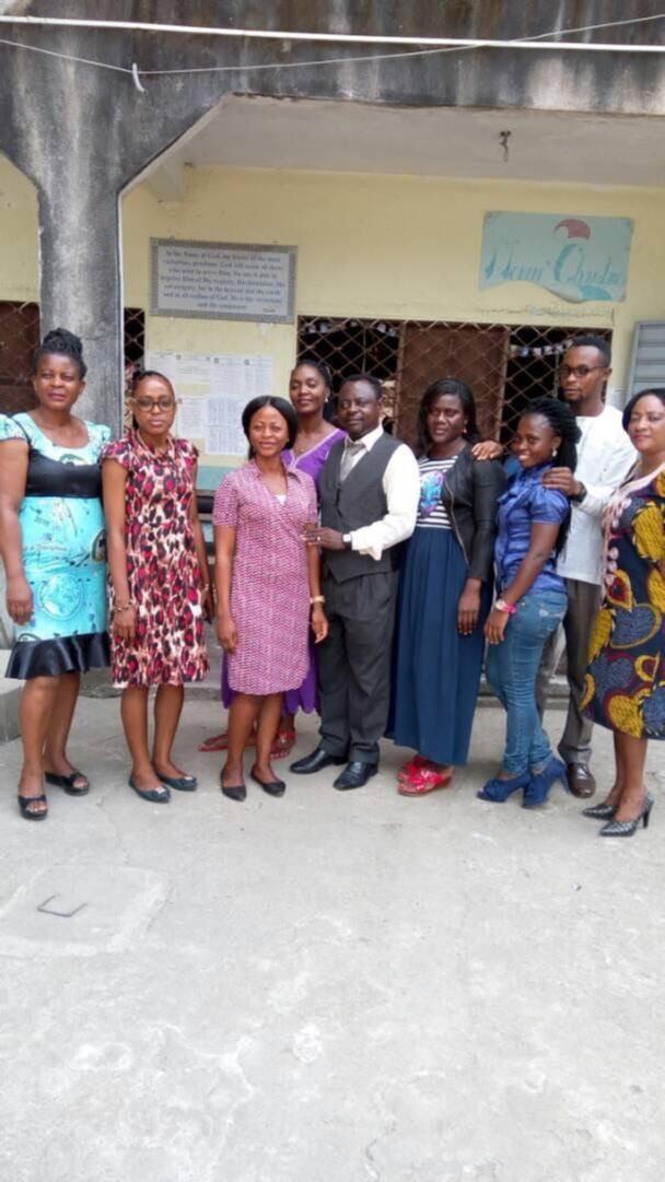 A group of Teachers together for teacher training