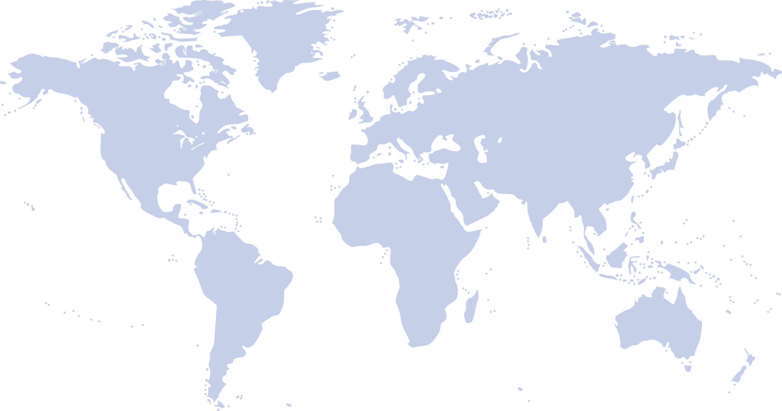 Map of the world with locations of full-circle learning sites