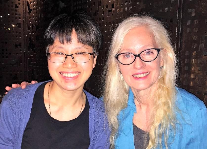 Jin Mei Gan and Teresa Langness