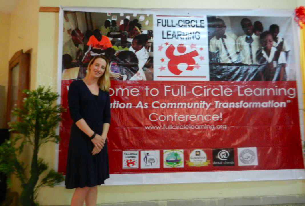 Lindsey Schurman in Liberia