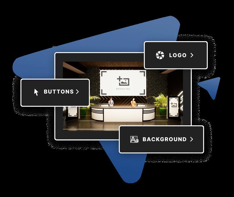 100% Self-Serve Virtual Event Platform    Company Meets