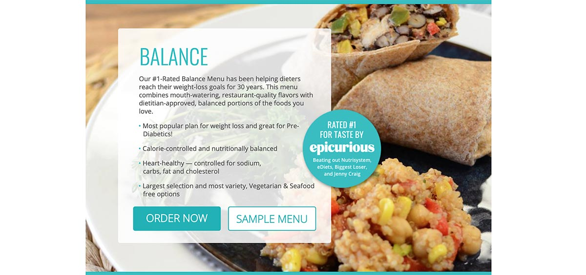 Diet-to-Go helps anyone achieve their weight loss goals through its portion-controlled meal plans.