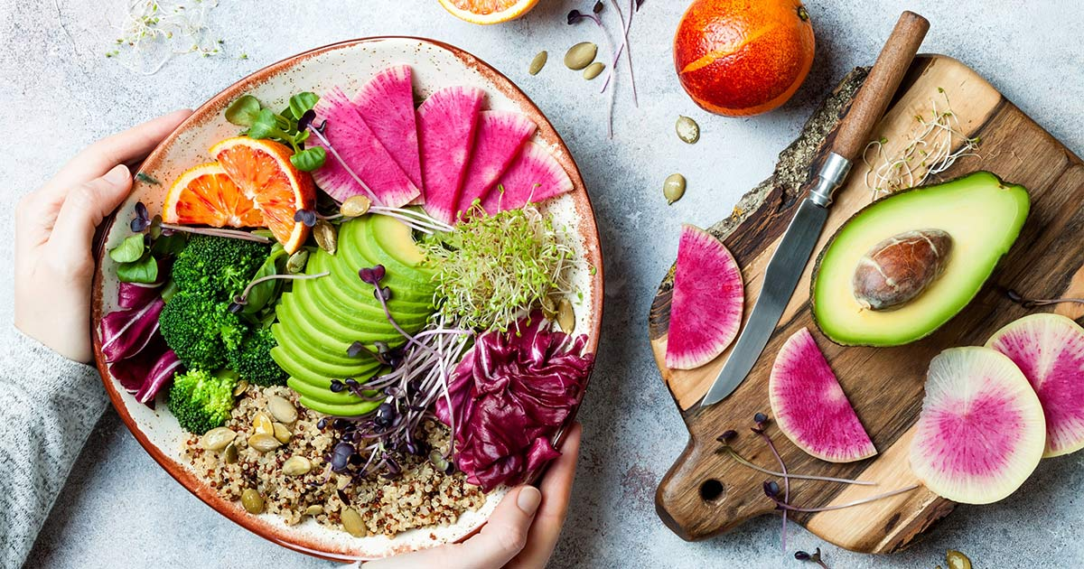 Eating The Rainbow - Why Consuming A Wide Variety Of Colours In Your Diet Is Important
