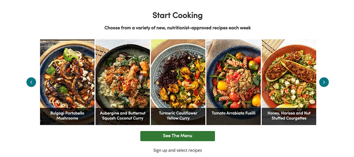 Green Chef offers recipe boxes with 5 delicious diet options to choose from each week.